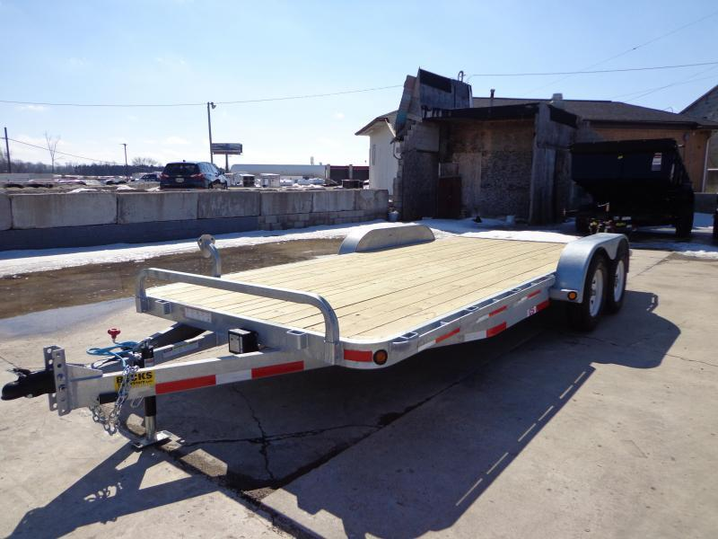 "New Galvanized 83"" x 18' Car Hauler - Corrosion Reistant"