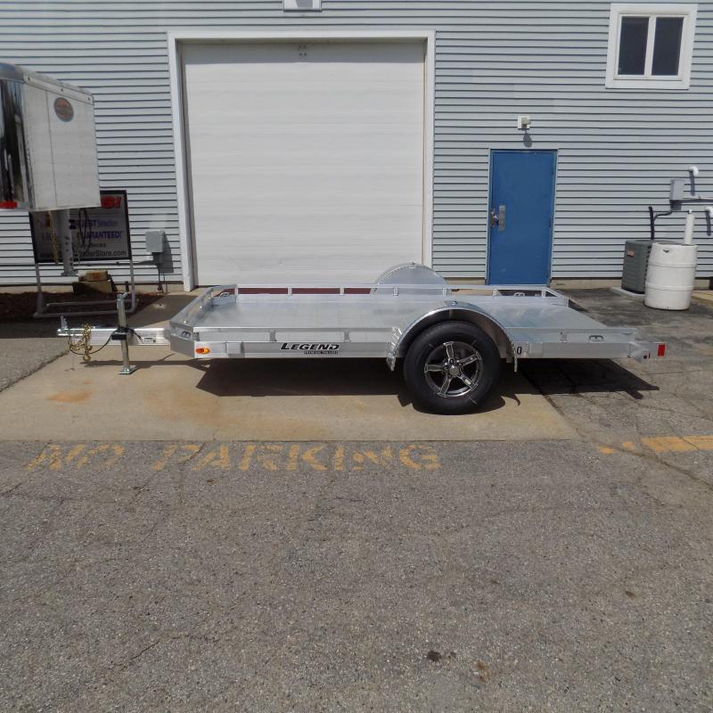 All New Legend 7' x 12' Aluminum Tilt Deck Trailer - Perfect for UTVs Motorcycles Golf Carts Mowers Etc.