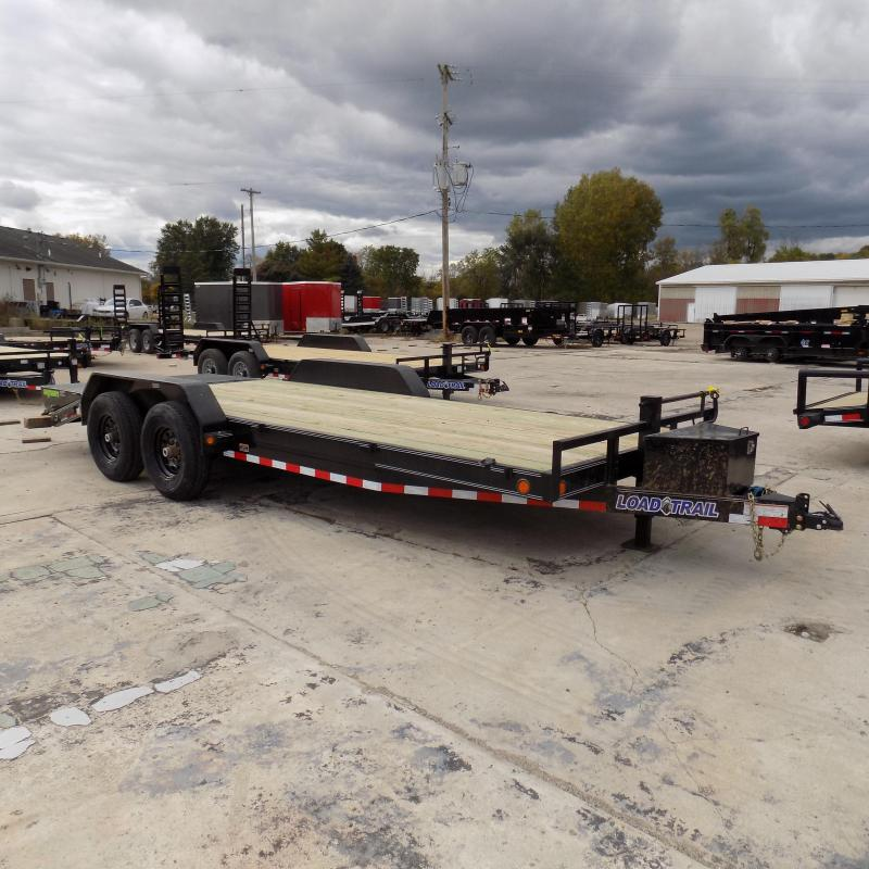 "New Load Trail 83"" x 20' Car/Equipment Trailer w/ MAX Ramps - $0 Down & Payments From $129/mo. W.A.C."