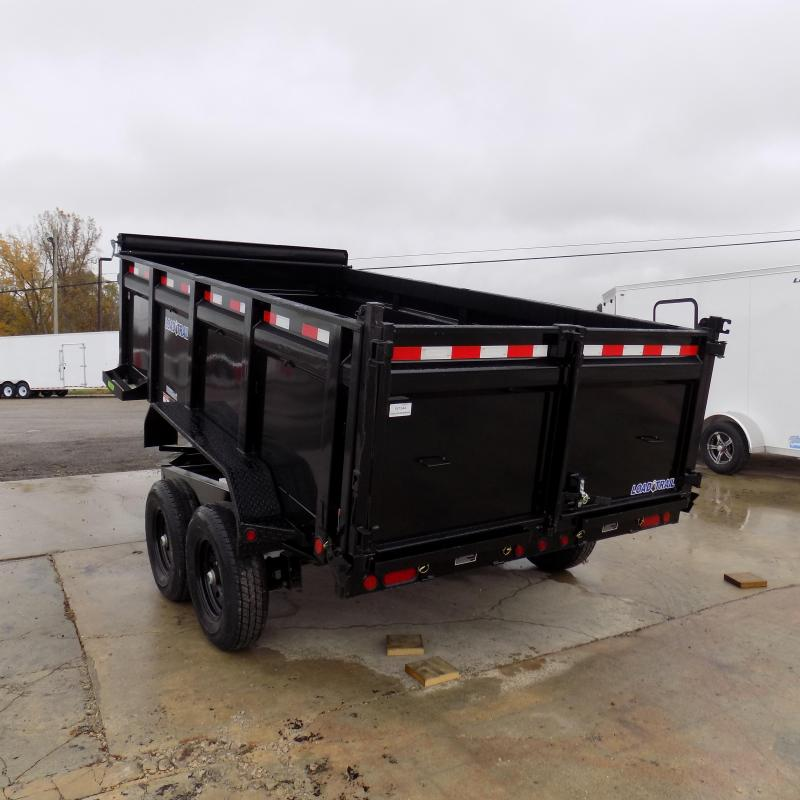"New Load Trail 83"" x 14' Dump Trailer w/ 36"" Sides - $0 Down & $129/mo. W.A.C."