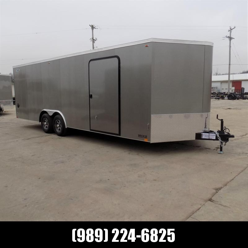 New Legend Cyclone 8.5' x 26' Enclosed Car Hauler Trailer for Sale- $0 Down Payments From 120/mo W.A.C