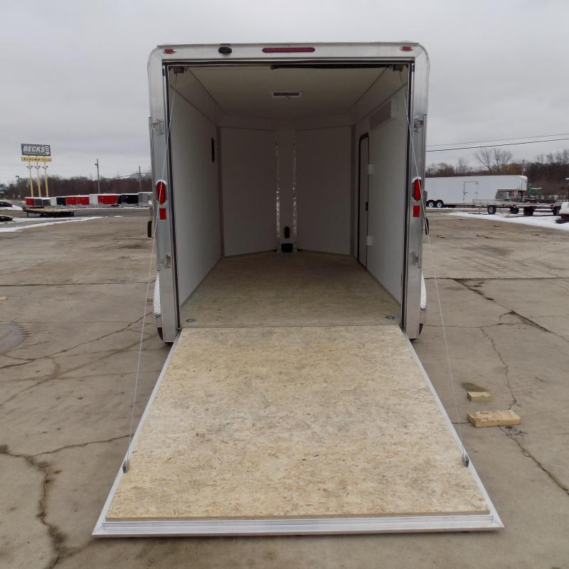 New Legend Trailers Deluxe V Nose 7' x 15' Aluminum Enclosed Cargo Trailer for Sale- $0 Down Payments From $119/mo. W.A.C