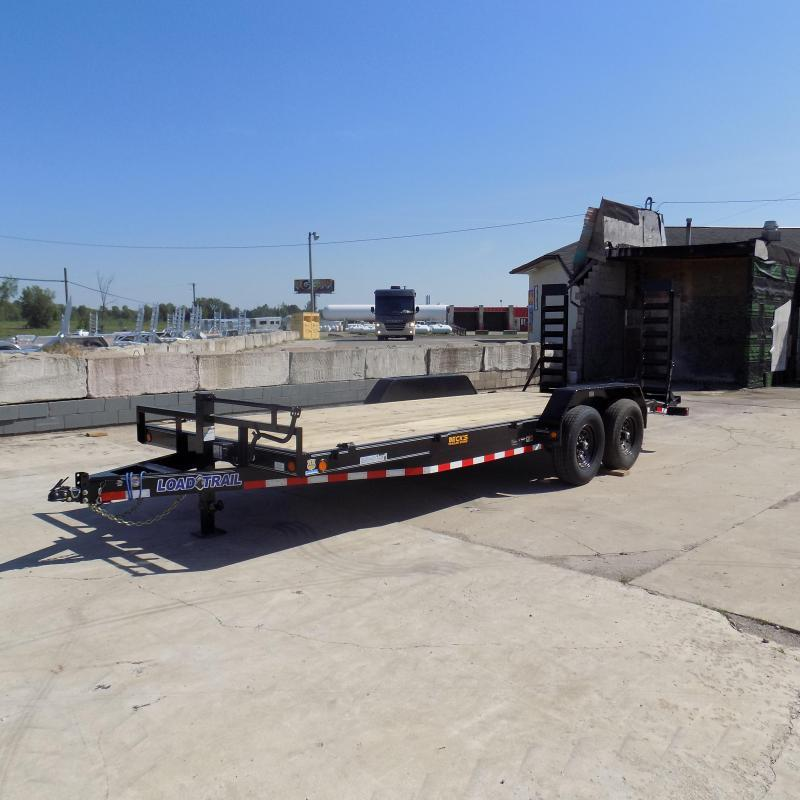 """New Load Trail 83"""" x 20' Car/Equipment Trailer For Sale - $0 Down & Payments From $124/mo. W.A.C."""