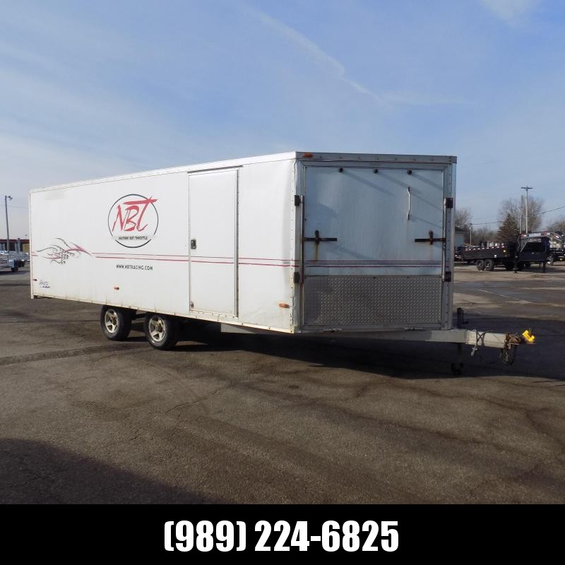 Used Ameralite 8.5' x 25' Deckover Snowmobile Trailer For Sale