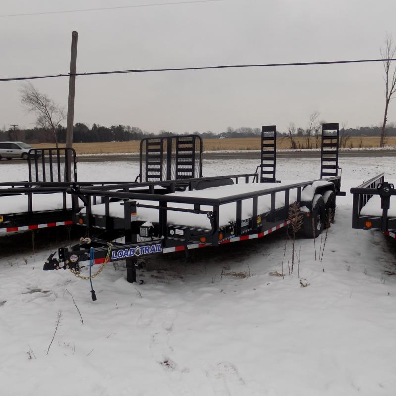 "New Load Trail 83"" x 20' Open Car/Equipment Trailer - $0 Down & Payments From $127/mo. W.A.C."