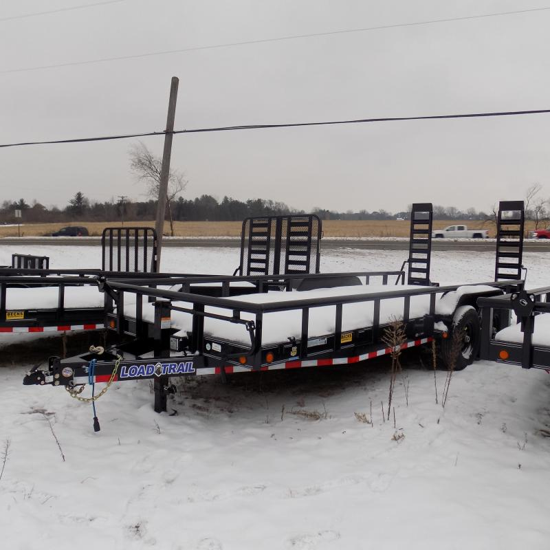 """New Load Trail 83"""" x 20' Open Car/Equipment Trailer - $0 Down & Payments From $127/mo. W.A.C."""