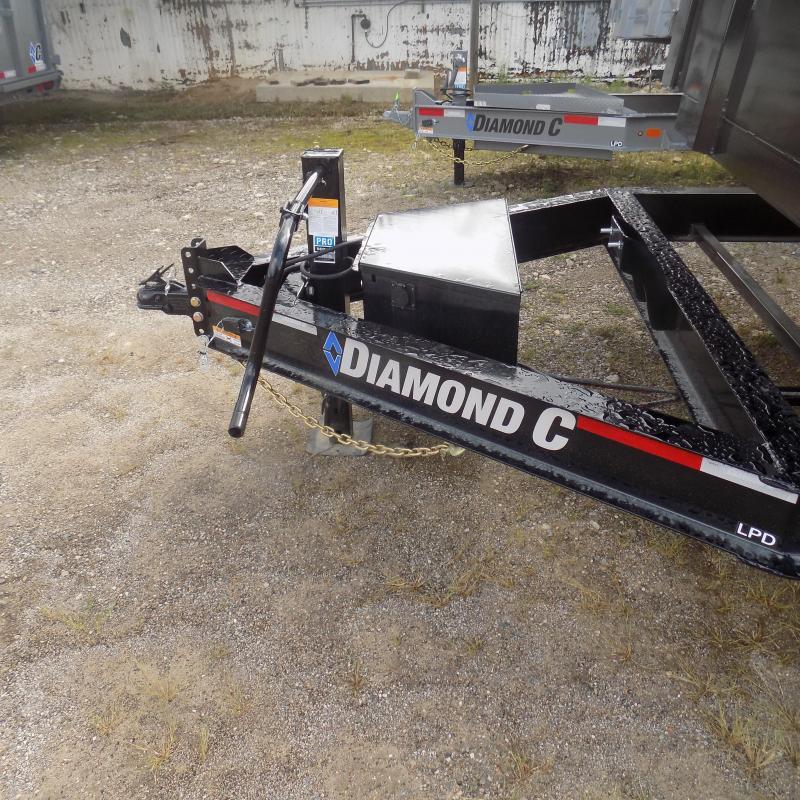 "New Diamond C 82"" x 14' Low Profile Dump Trailer For Sale"
