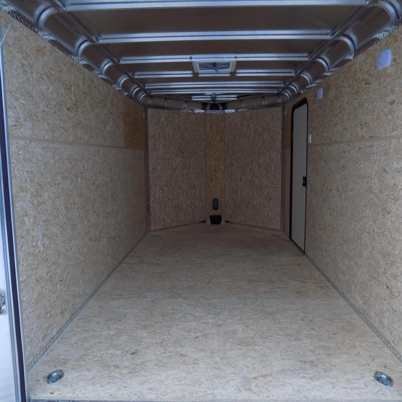 New Legend Deluxe V Nose 7' X 15' All Aluminum Cargo Trailer For Sale - $0 Down & Payments from $153/mo. W.A.C.