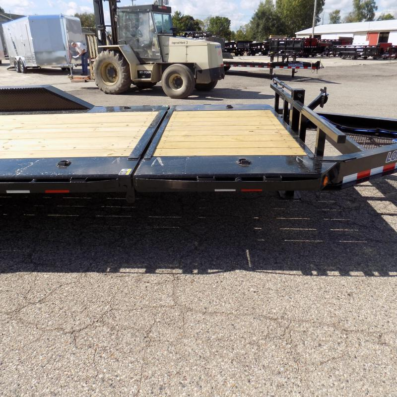 "New Load Trail 102"" x 20' Tilt-N-Go Equipment Trailer For Sale - Payments from $139/mo. W.A.C."