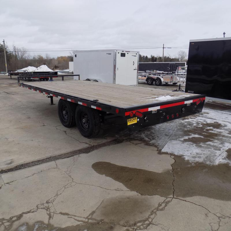 """New Load Trail 102"""" x 18' Deckover Trailer for Sale - $0 Down & Payments From $101/mo. W.A.C."""