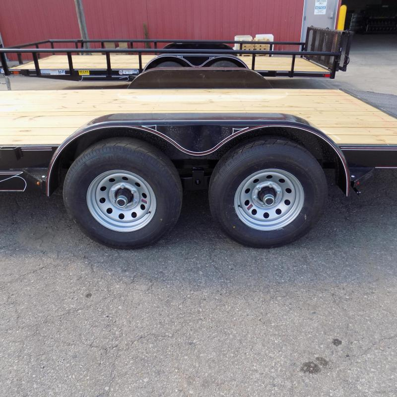"New Diamond C Trailers 82"" x 18' Open Car Hauler For Sale - $0 Down & Payments from $99/mo. W.A.C."