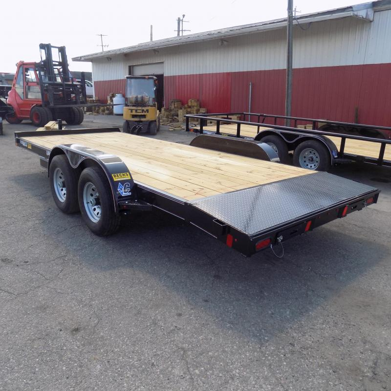"""New Diamond C Trailers 82"""" x 18' Open Car Hauler For Sale - $0 Down & Payments from $99/mo. W.A.C."""