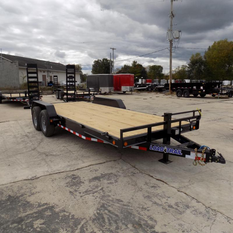 "New Load Trail 83"" x 20' Car/Equipment Trailer For Sale - $0 Down & Payments From $124/mo. W.A.C."