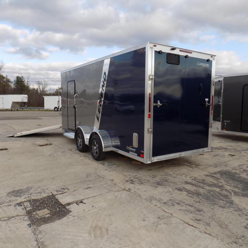 New Legend Explorer 7' x 23' Snowmobile Trailer - Payments From $158/mo with $0 Down W.A.C - Best Deal Guarantee