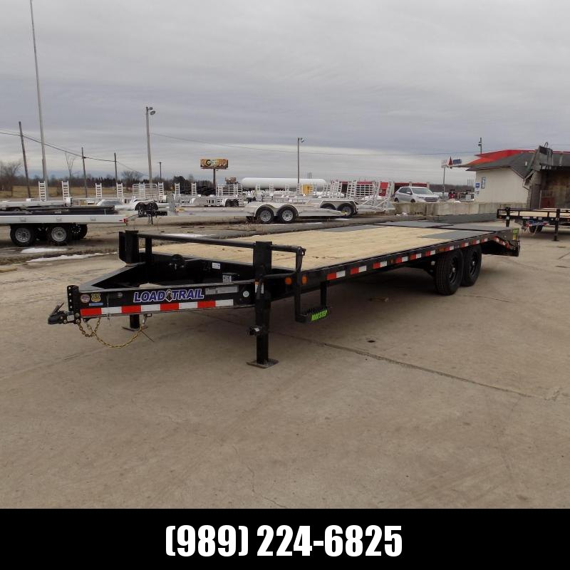 "New Load Trail 102"" x 24' Deckover Trailer For Sale- $0 Down Payments From $142/mo W.A.C."