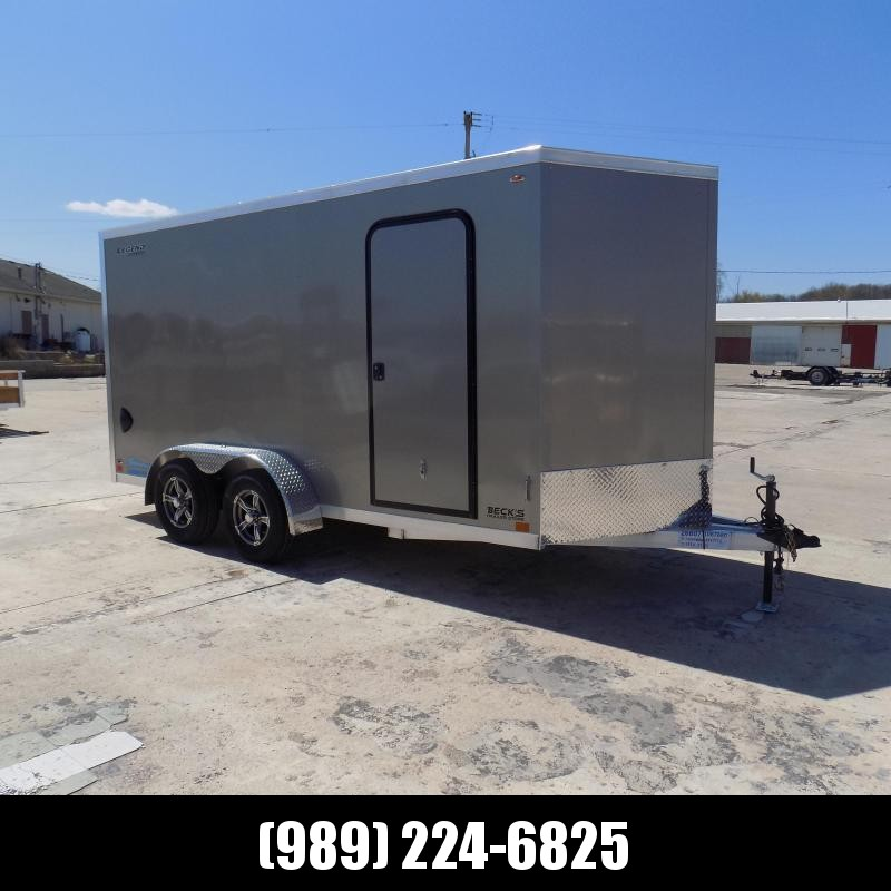 New Legend Thunder 7' x 16' Aluminum Enclosed Cargo For Sale- $ 0 Down Payments From $115/Mo W.A.C