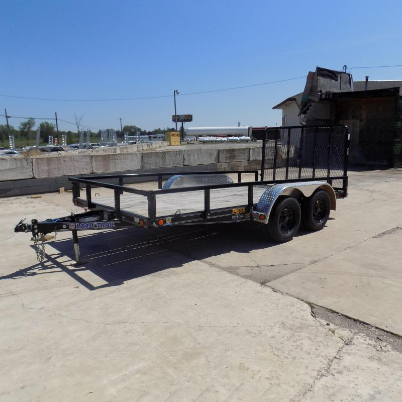 "New Load Trail 83"" x 14' Tandem Axle Open Utility Trailer for Sale - $0 Down & Payments $69/mo. W.A.C"