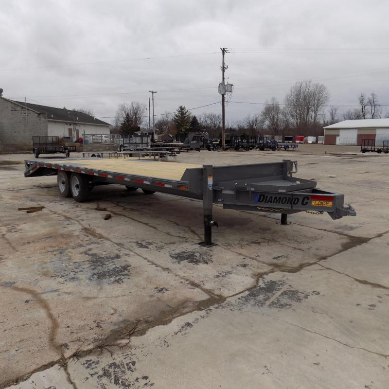 "New Diamond C Trailers 102"" x 26' Deckover Equipment Trailer W/ 8K Oil Bath Axles - Payment From $139/mo. With $0 Down W.A.C."