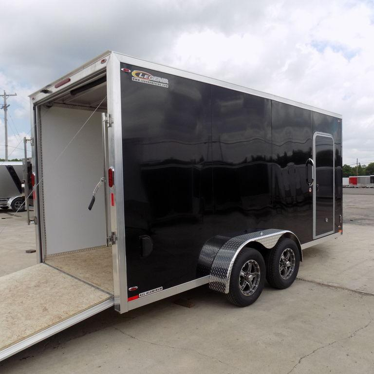 New Legend FTV 7' X 19' Aluminum Enclosed Trailer On Sale - Extremely Heavy Duty
