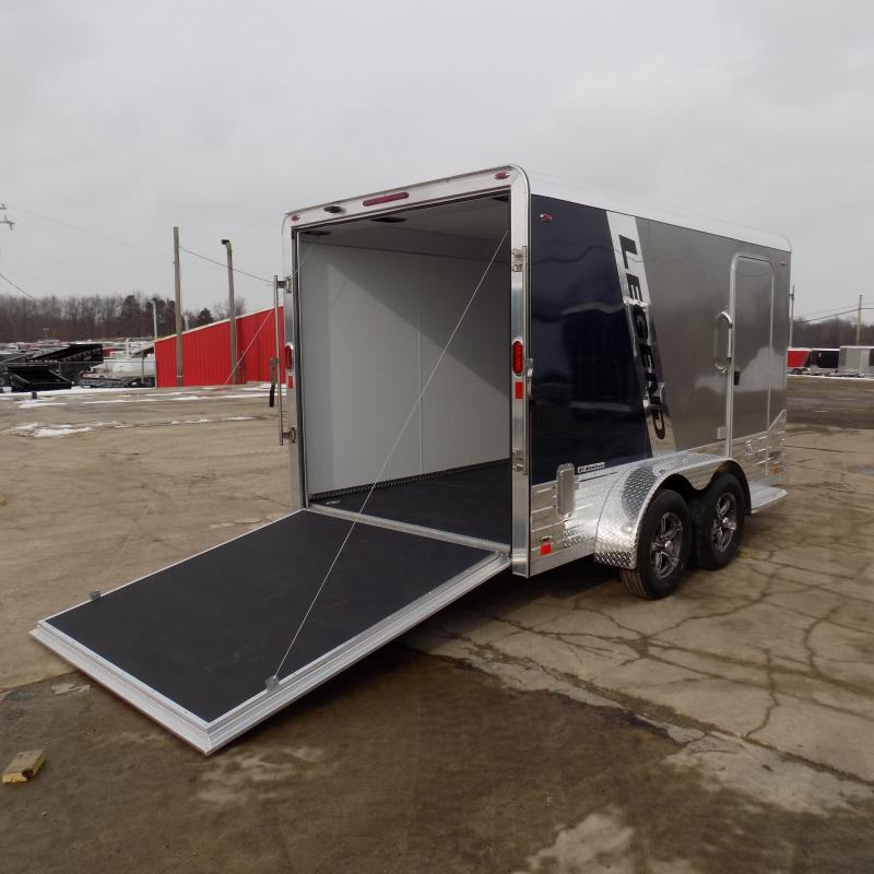 New Legend Deluxe V Nose 7' X 15' All Aluminum Cargo Trailer For Sale - $0 Down & Payments from $107/mo. W.A.C.