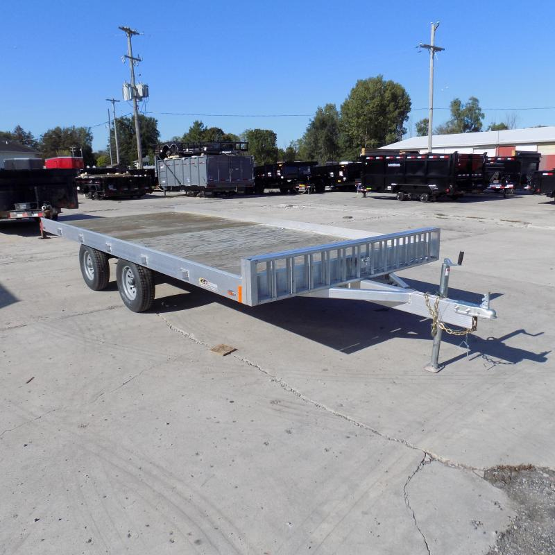 2019 Legend 7' x 16' Aluminum ATV Trailer For Sale