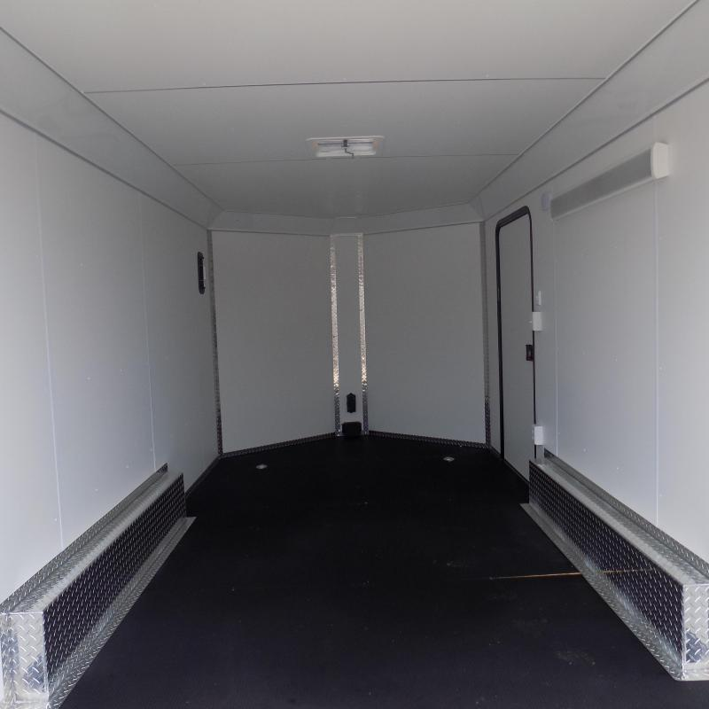 New Legend Deluxe V-Nose 8' x 17' Enclosed Cargo Trailer - LOADED! - Payments from $155/mo. W.A.C.