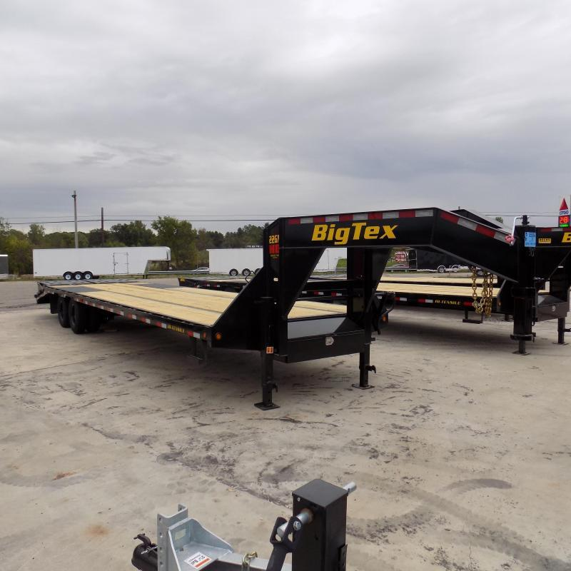 "New Big Tex 102"" x 30' + 5' Gooseneck Trailer w/ 23900# Weight Rating"