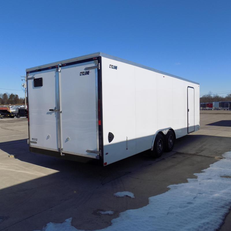 New Legend Cyclone 8.5' x 26' Enclosed Cargo Trailer for Sale- $0 Down Payments From $125/Mo W.A.C.