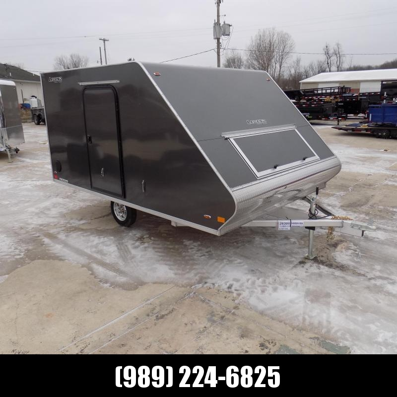 New Legend Trailers 8.5' x 13' Hybrid Snowmobile Trailer For Sale - Payments From Only $109/mo. W.A.C.