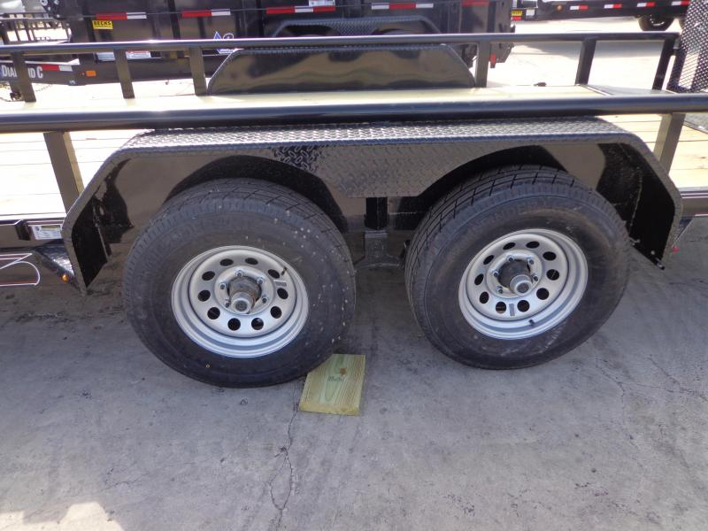 "New Diamond C Trailers 82"" x 18' Utility Trailer With 5200# Axles"
