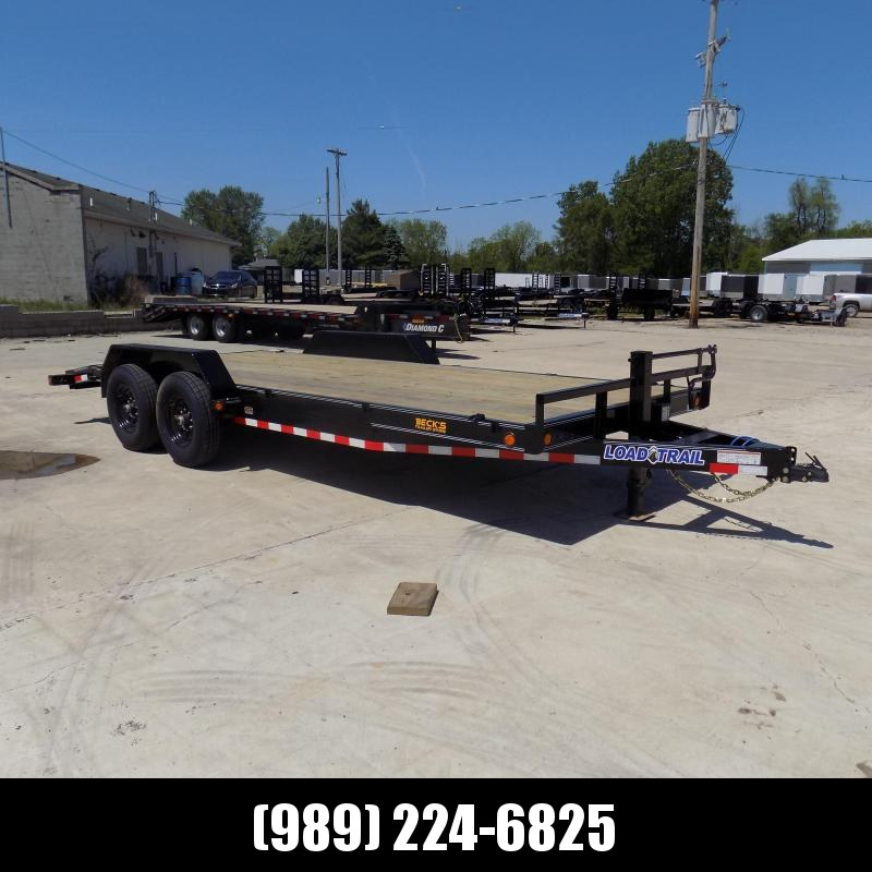 """New Load Trail 83"""" x 20' Car/Equipment Trailer For Sale - $0 Down & Payments From $122/mo. W.A.C."""