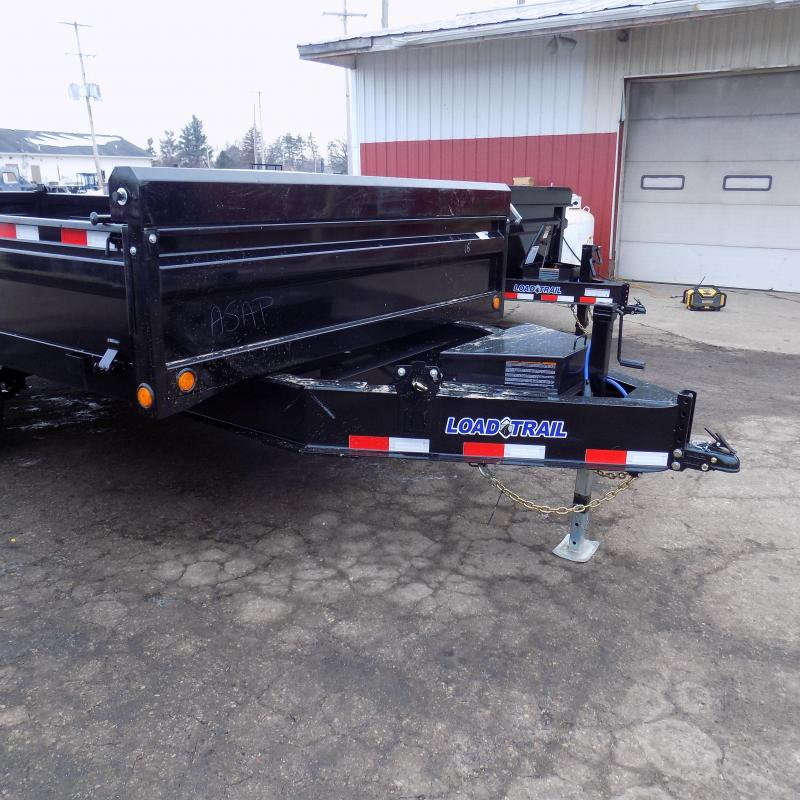 """New Load Trail 96"""" x 16' Tandem Axle Deck Over Dump  - $0 Down & Payments From Payments From $129/mo. W.A.C."""