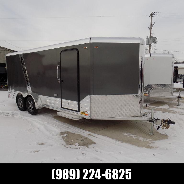 New Legend Deluxe V-Nose 7' x 21' Aluminum Enclosed Cargo Trailer For Sale - CLEARANCE UNIT - NO SUBSTITUTIONS