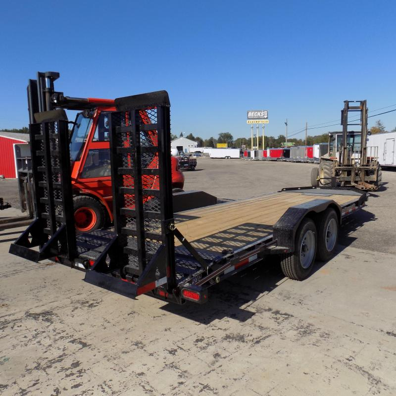 """New Diamond C Trailers 82"""" x 20' Equipment Trailer For Sale - Payments From $139/mo. W.A.C."""