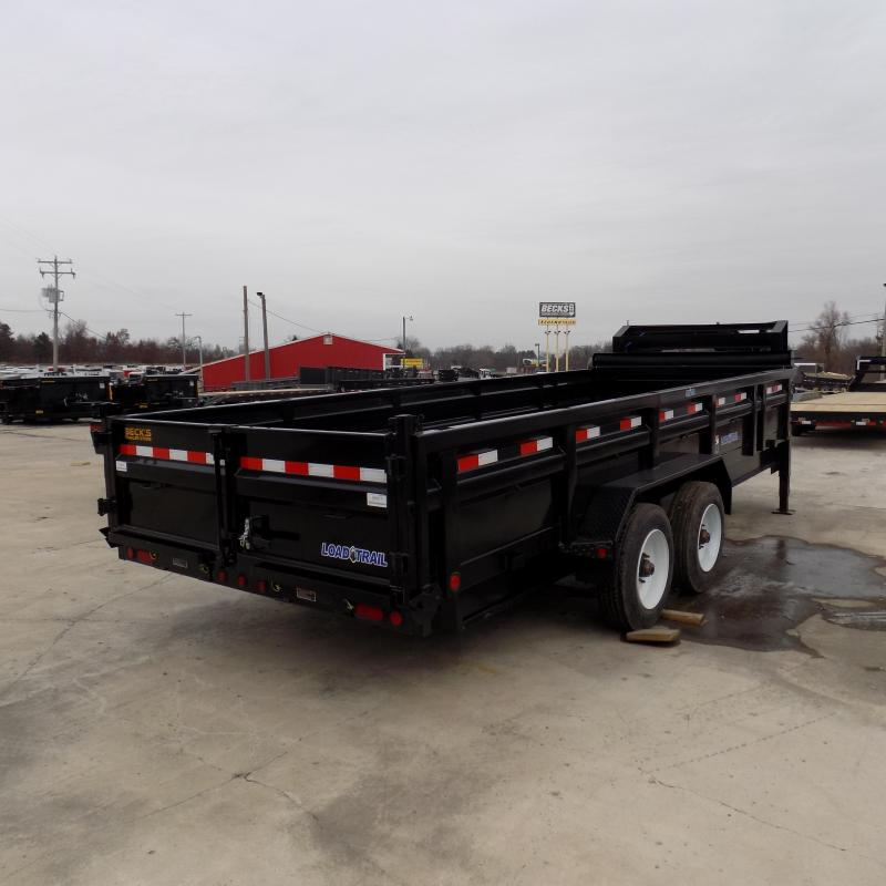 """New Load Trail 83"""" x 20' Heavy Duty Gooseneck Dump Trailer With 10K Torsion Axles - $0 Down & Payments From Payments From $149/mo. W.A.C."""