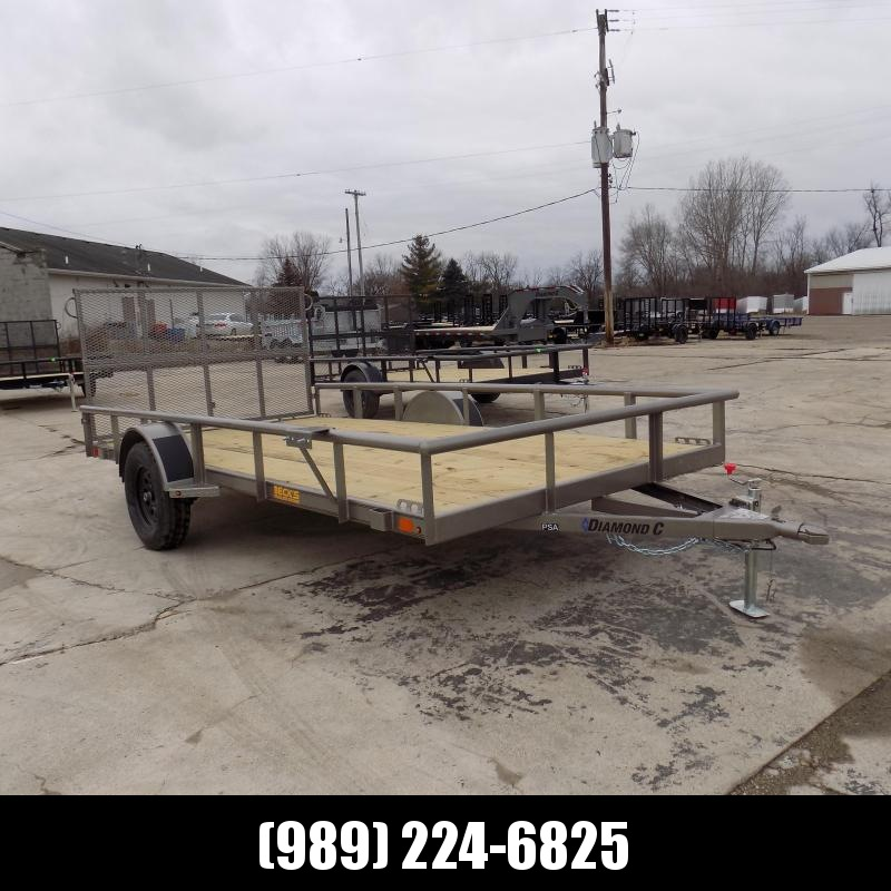 """New Diamond C 83"""" x 14' Utility Trailer With Bi-Fold Rear Gate - $0 Down Financing Available - Best Deal Guarantee"""