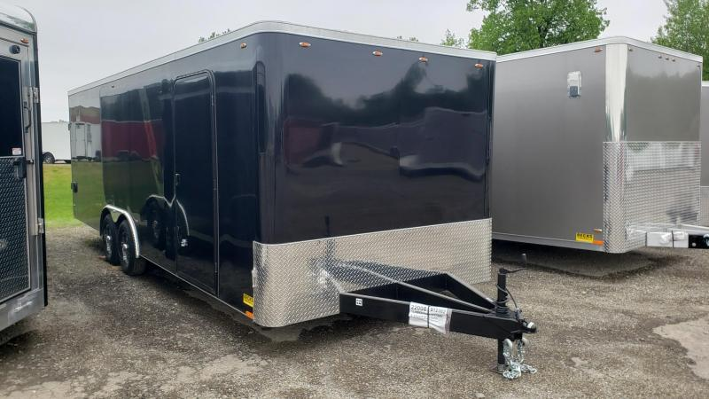 New Legend Cyclone Flat Front 8.5' x 24' Enclosed Cargo /Contractor Trailer For Sale