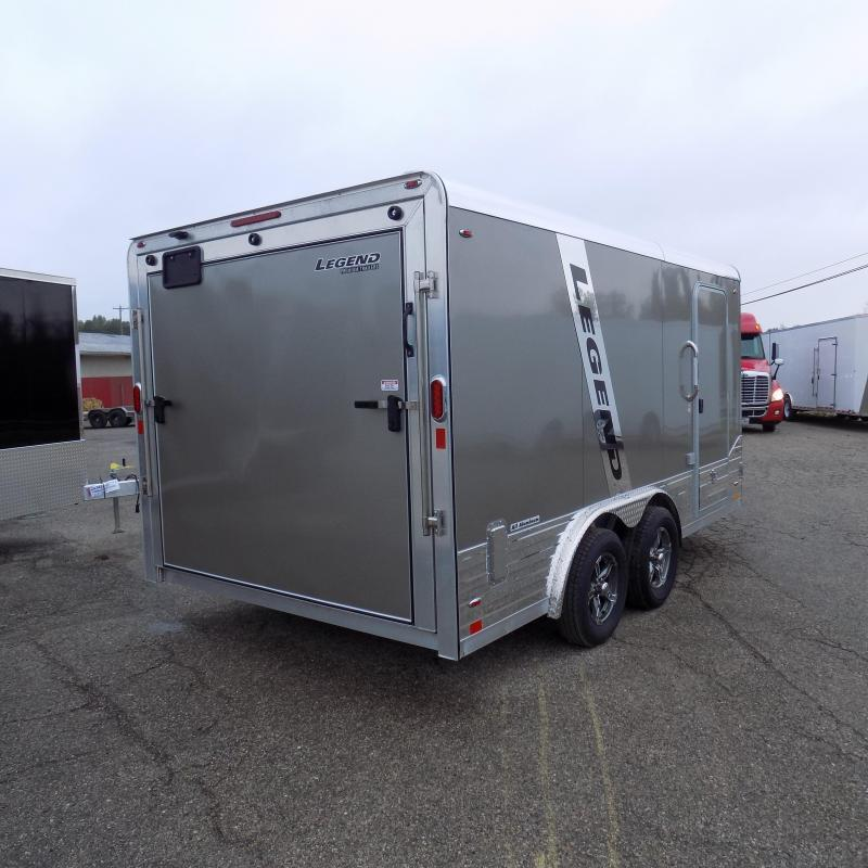New Legend Deluxe V-Nose 8' x 17' Enclosed Cargo Trailer - $0 Down & Payments From $133/mo. W.A.C