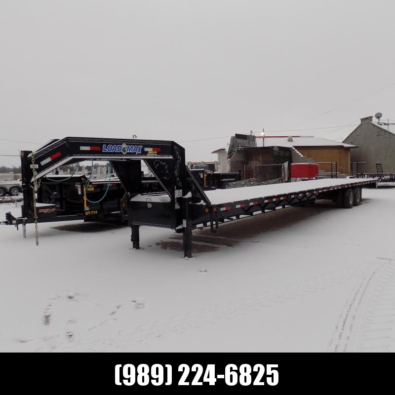 "Used Load Trail 102"" x 45' Gooseneck Trailer For Sale - Great Shape!"