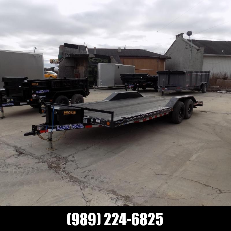 """New Load Trail 102"""" x 20' Open Car/Equipment Trailer For Sale - $0 Down & Payments From $129/mo. W.A.C."""