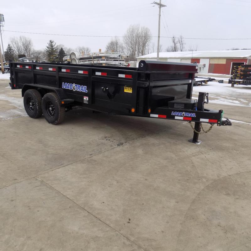 "New Load Trail DT16 83"" x 16' Dump Trailer for Sale - Payments from $119/mo. W.A.C."