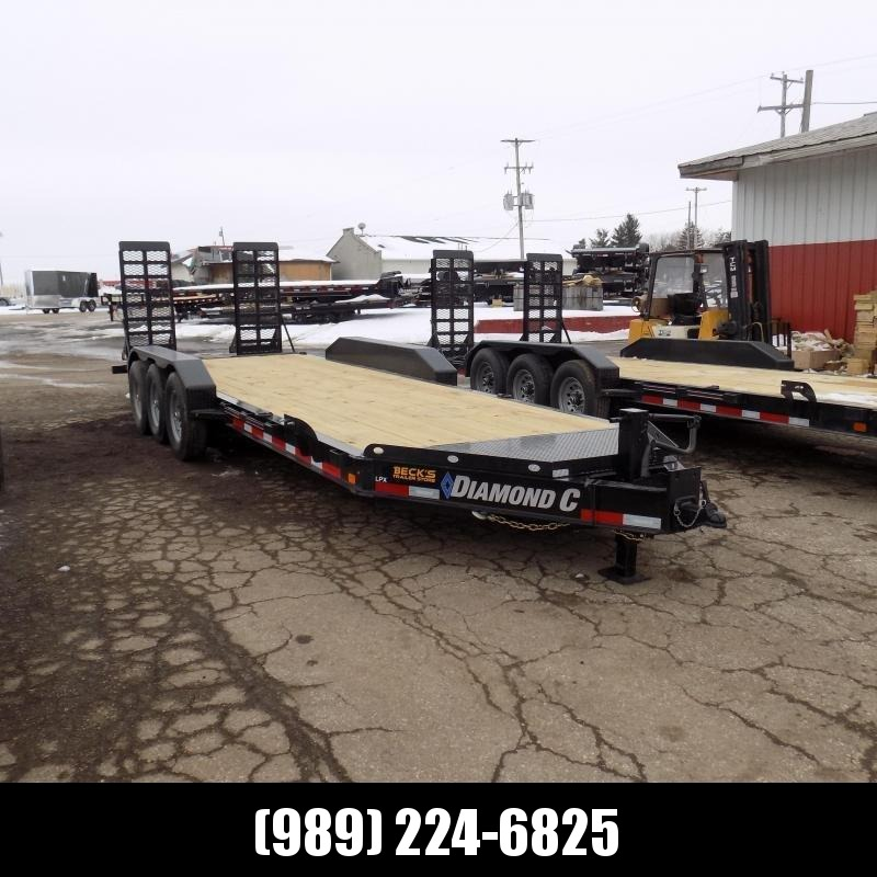 """New Diamond C Trailers 82"""" x 22' Triple Axle Equipment Trailer For Sale W/ 20,570# Payload Capacity! $0 Down & Payments from $117/mo. W.A.C."""