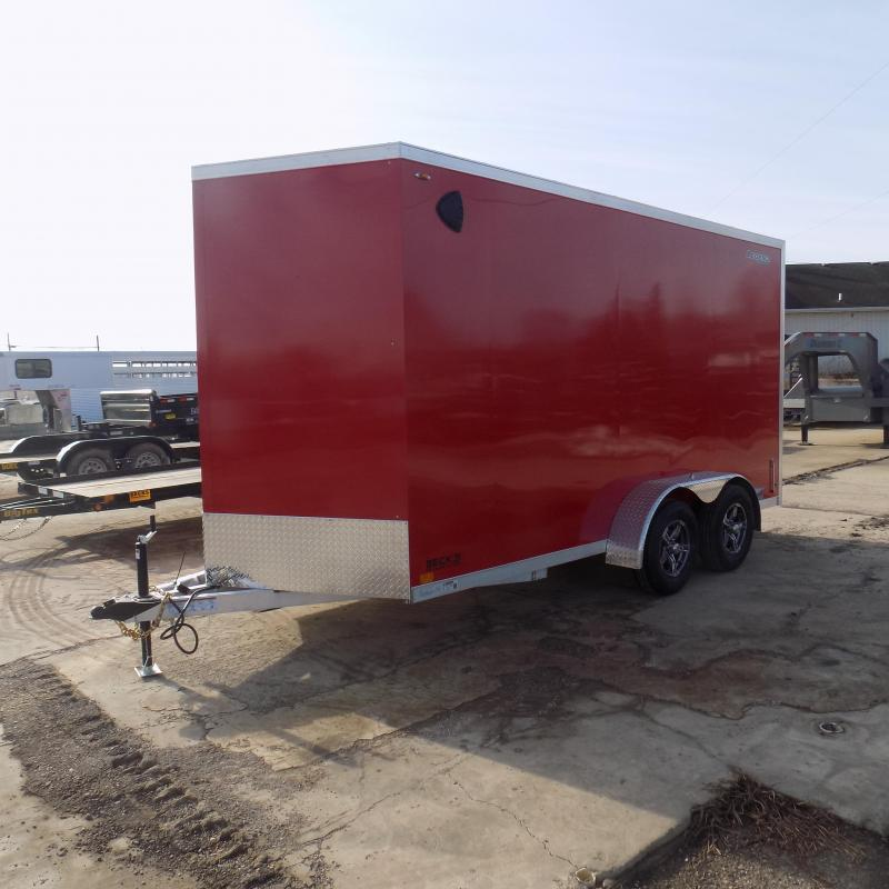 New Legend Thunder 7' X 16' Enclosed Cargo Trailer For Sale - $0 Down Payments From $120/Mo W.A.C.
