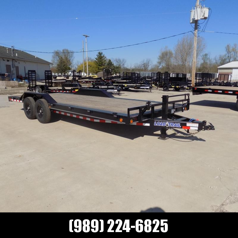 "New Load Trail CH14 102"" x 22' Open Car/Equipment Trailer For Sale - Payments from $99/mo. W.A.C."