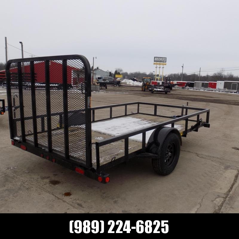 "New Load Trail 77"" X 12' Utility Trailer For Sale- $0 Down Payment from $60/mo W.A.C"