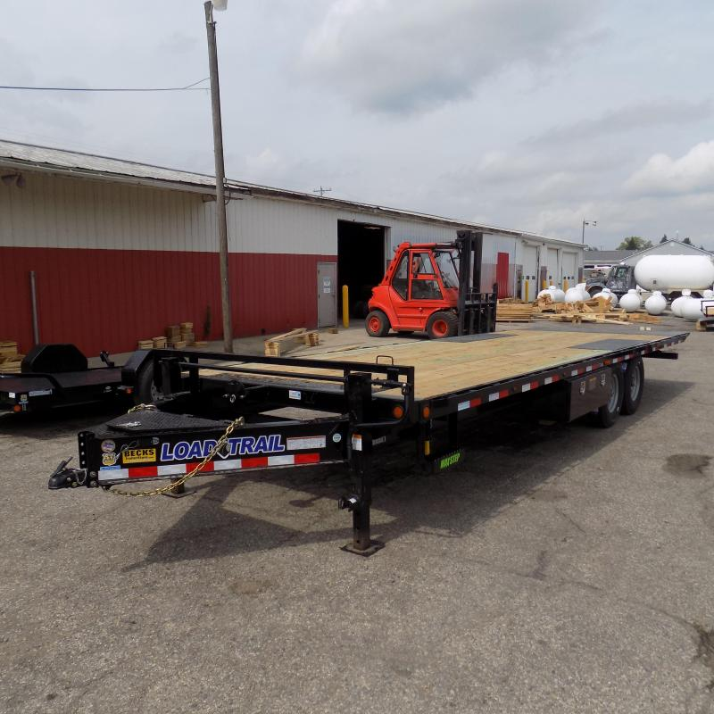 """New Load Trail 102"""" x 26' Tilt Deck Trailer - Full Tilt Deck"""