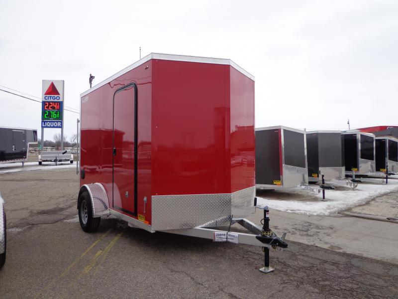 New Legend Thunder 6' x 11' Enclosed Cargo Trailer