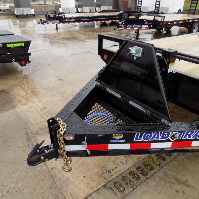 """New Load Trail 102"""" x 20' Deckover Trailer With Max Ramps"""
