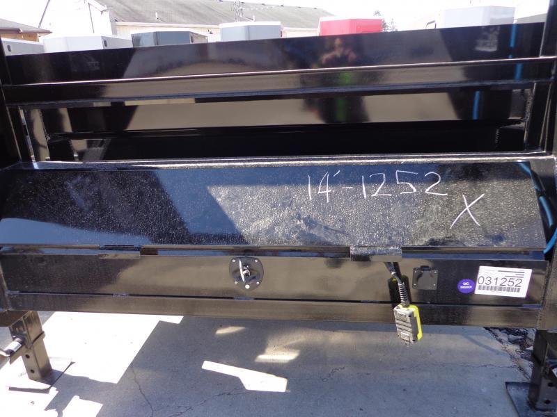"New Iron Bull 83"" x 16' Gooseneck Dump Trailer - 8K Axle Upgrade"