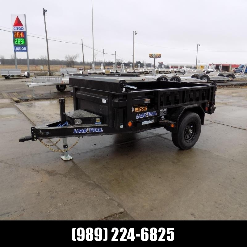 """New Load Trail 5"""" x 8' Dump Trailer For Sale - $0 Down & Payments From $137/mo. W.A.C."""